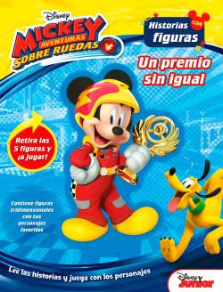 Mickey Aventuras Sobre Ruedas Historias Con Figuras Disney Planeta De Libros